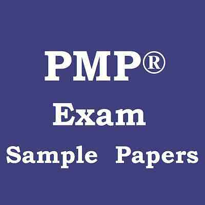 Project Management PMP® Exam Sample Mock Papers x 5 (200 Qs each) PMBOK 6th Ed
