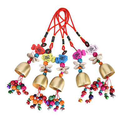 National Copper Bell Mobile Wind Chime Home Yard Garden Outdoor Living Decor JX