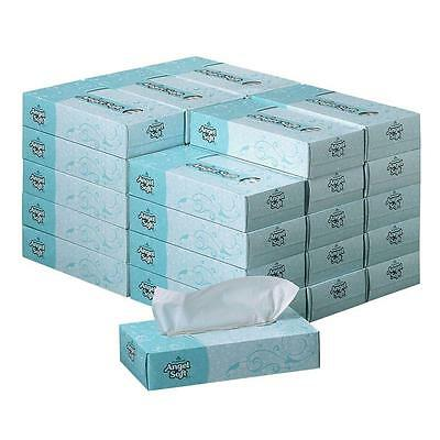 Premium 2-Ply Facial Cleaning Tissue, Case of 30 Boxes. Home, Office, Business
