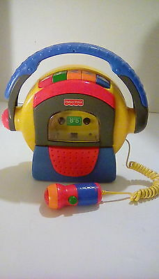 New Style Fisher Price Cassette Player/Recorder in Exellent Conditon! Tested!