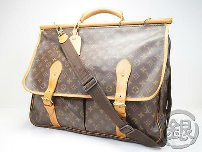 Auth Pre-Owned Louis Vuitton Lv Mono Sac Chasse Hunting Travel Bag M41140 141452