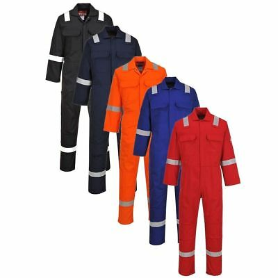 Portwest BIZ5 Bizweld Iona flame resistant coverall 5 colours size small-5XL