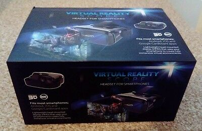 Virtual Reality Scope Headset For Smartphones