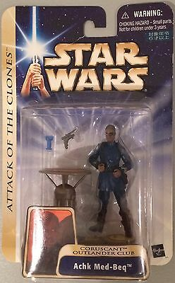 Star Wars Attack Of The Clones Coruscant Outlander Club Achk Med-Beq