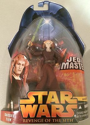 Star Wars Revenge Of The Sith Jedi Master Saesee Tiin