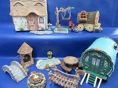Miniature Garden Ornaments - Miniature World - Miniature Fairy Garden Brand New