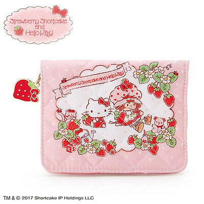 Tissue Pouch Hello Kitty Strawberry Shortcake ❤ Sanrio Japan