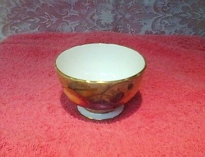 """AYNSLEY """"Orchard Gold"""" Sugar Bowl.  Excellent Condition."""