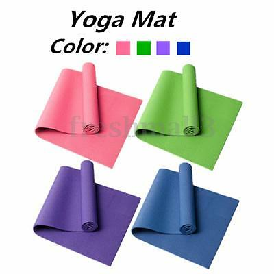 8mm Thick Non Slip Exercise Yoga Mats Gym Fitness Workout Physio Pilates Camping