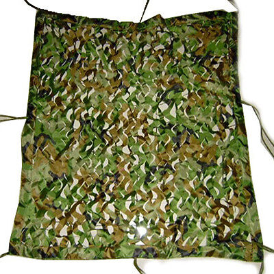 1.1*1.3M Woodland leaf Camouflage Net Camo Army Netting Camping Military Hunting