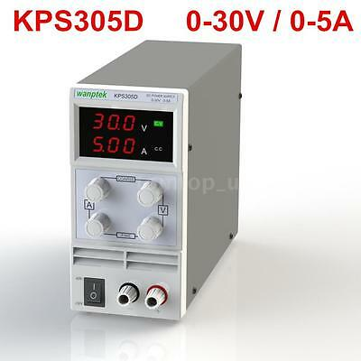 Mini 30V 5A Dual LED Variable Adjustable Digital Regulated DC Power Supply T5W4