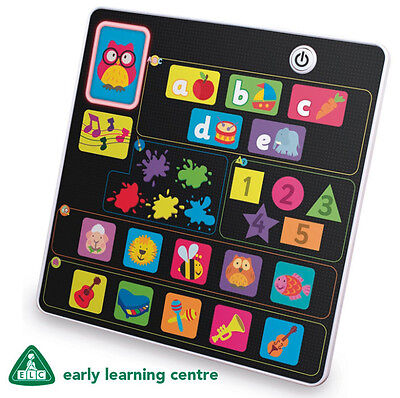ELC Early Learning Centre Tablet Learning Pad Baby Toddler Toy