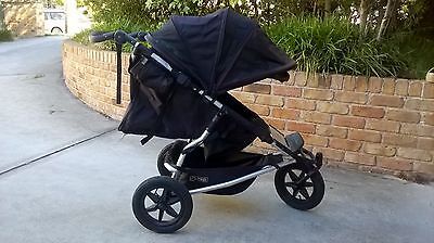 Mountain Buggy Plus One Stroller and Accessories