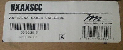 Middle Atlantic Bxaxscc Ax-S/sax Cable Carriers