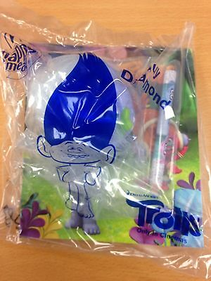 Trolls McDonald Happy Meal Toy New 2016