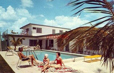 IVY LEAGUE MOTEL APTS CLEARWATER BEACH, FL 1971 Florence & Pro Nomides, Owners