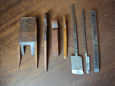 Job lot of Vintage wood plane parts to clear.