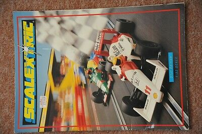 Scalextric Catalogue 31st edition 1990 with price list Excellent