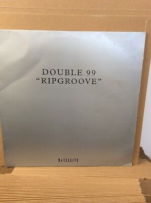 "Double 99 - Rip Groove12"" Vinyl - Classic Speed garage"