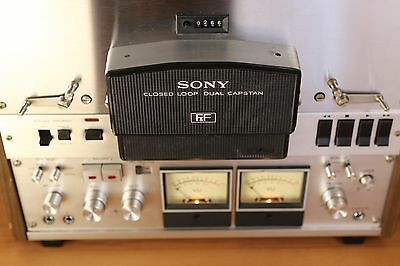 Sony TC-756-2 2 track stereo reel to reel tape recorder 15 / 7.1/2 IPS