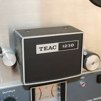 lovely compact Teac 1230 reel to reel tape recorder