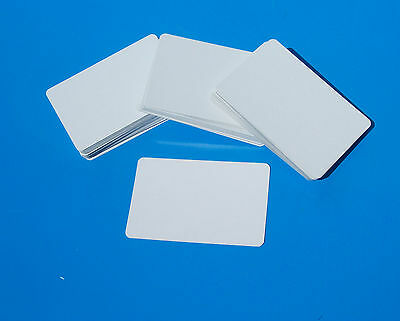 BLANK WHITE CARDS -business,flashcard,sight & learning,ID,gameplay.- approx100