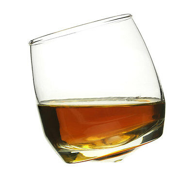 Set of 6 Bar Whiskey Glasses with Rounded Base by Sagaform