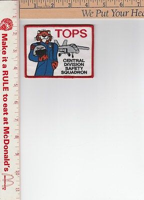 EXXON patch [with Jet plane and tiger }NOS 4in x 3in