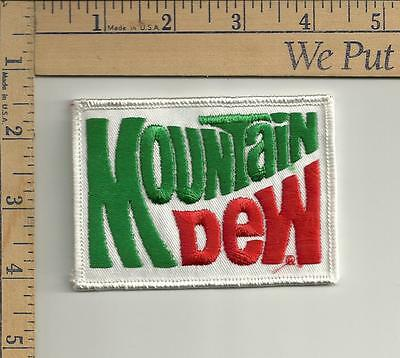 1 nos mountian dew patch 3-3/4 x 2-3/4 inches