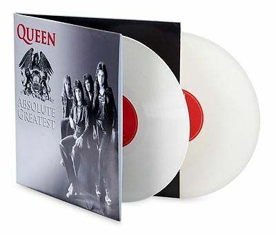 Queen - Absolute Greatest 2 X LP White Coloured Vinyl Hits Double Album Sealed