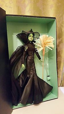 2014 Fantasy Glamour WICKED WITCH OF THE WEST Barbie doll Gold Label Oz