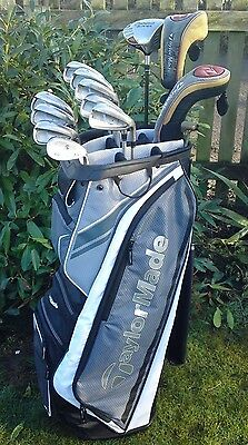 Fantastic Full Set of Graphite TaylorMade Golf Clubs FREE POST