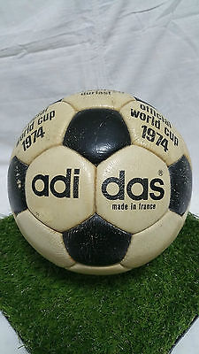 Telstar Durlast Adidas Ball Official 1974 World Cup Made In France Final Wc Wm