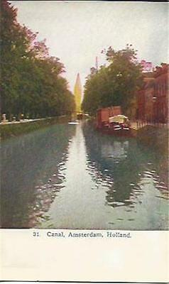 Canal Amsterdam Holland .  PC