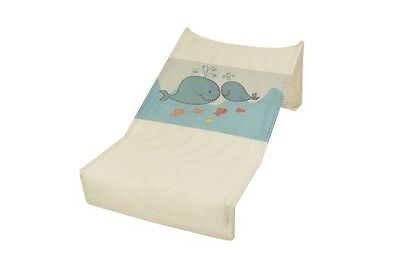 Babyhood Mesh Bath Support (White Whales)