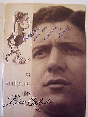 FRANCISCO CALADO BENFICA 40's/50's SIGNED TRIBUTE PROGRAMME