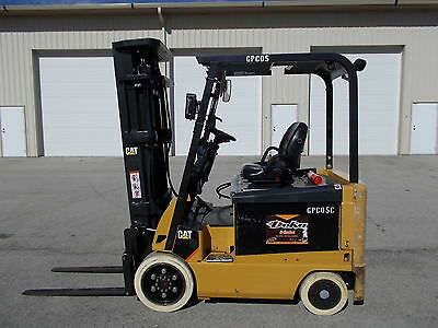 2011 Cat Ex5000 4 Way Forklift Lift Truck Caterpillar Tow Motor Hilo Fork Yale