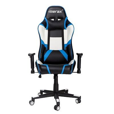 Merax Racing High-Back Executive Chair with Adjustable Swivel