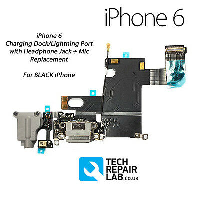 buy online 527c4 ec6b3 NEW LIGHTNING CONNECTOR/CHARGING Dock/Port + Headphone Jack Repair FOR  iPhone 6