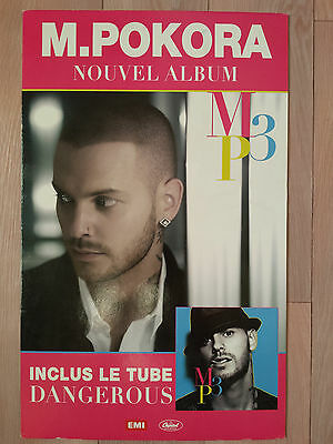 M Pokora Red / My Way / MP3 / PLV collector - The Voice