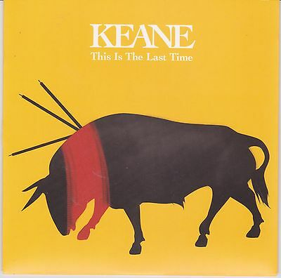 """Keane - This Is The Last Time - Rare 2004 UK Limited Edition Numbered Vinyl 7"""""""