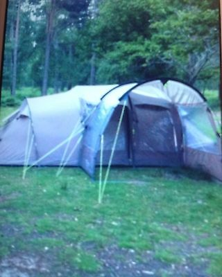 Outwell Delux Nevada L Tent, with footprint, awning & carpet.