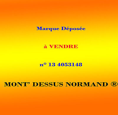 Marque déposée n° n° 13 4053148 (French Trademark for sale)