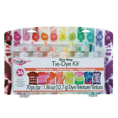 12-Colour One Step Tie-Dye Kit - Tulip Free Shipping!
