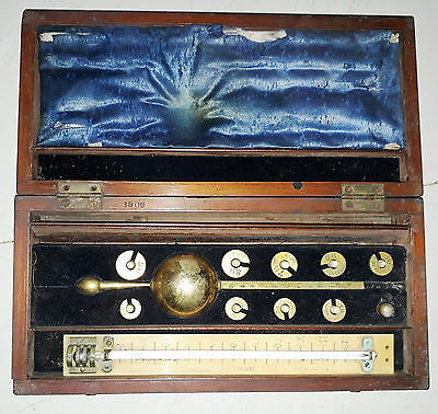 Rare Vintage Instrument With Wooden Box  Made In London In 1909