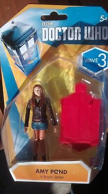 Amy Pond Wave 3 Doctor Who Figure