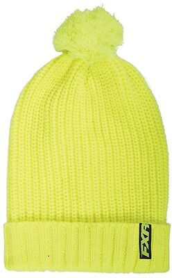 FXR Cozy Womens Beanie Hat Hi-Vis Yellow OS