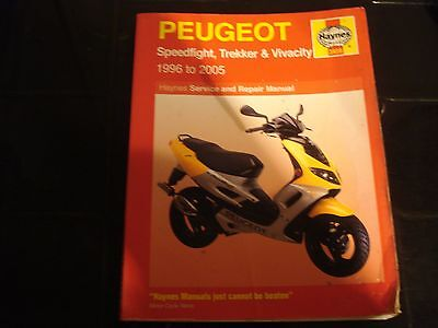 Hayes manual for Peugeot speedfight 2005