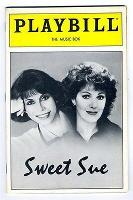 Sweet Sue Mary Tyler Moore Lynn Redgrave March 1987 Playbill