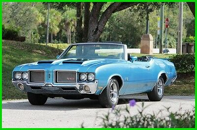 1972 Oldsmobile Other Convertible Oldsmobile 442 Convertible 1972 Automatic Restored 455CI Hurst Shifter